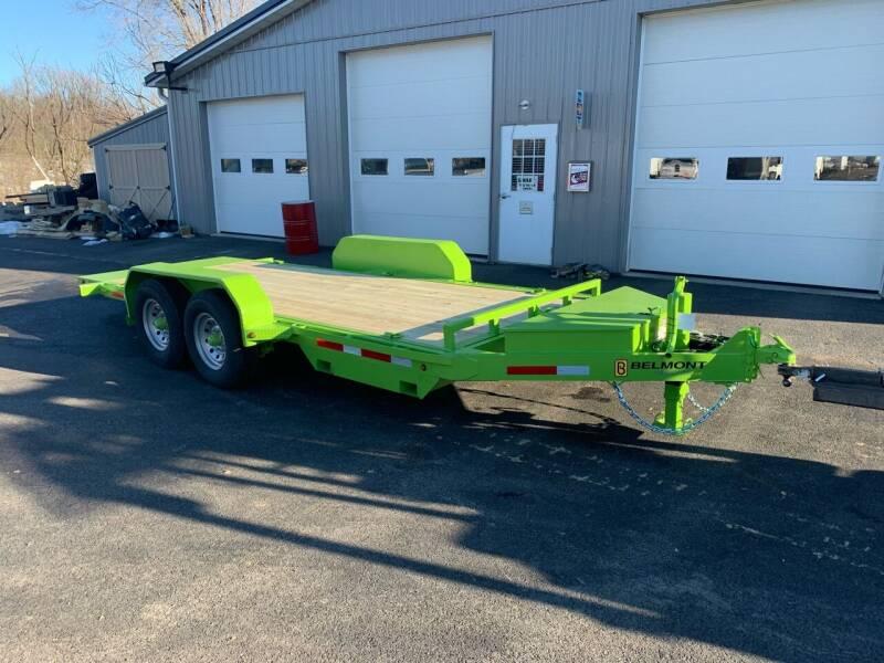 2021 Belmont Skid Steer Tilt Deck  for sale at Smart Choice 61 Trailers in Shoemakersville PA