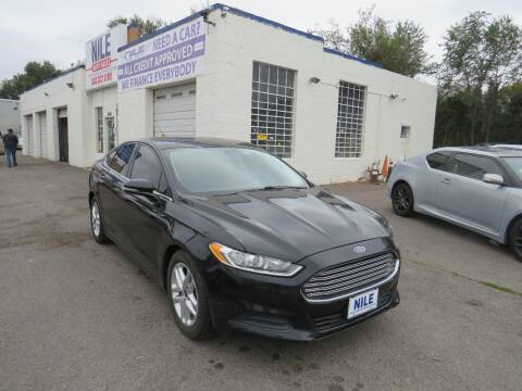 2016 Ford Fusion for sale at Nile Auto Sales in Denver CO
