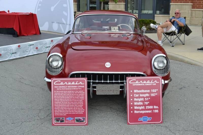 1954 Chevrolet Corvette for sale at CARuso Classic Cars in Tampa FL