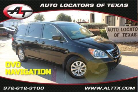 2010 Honda Odyssey for sale at AUTO LOCATORS OF TEXAS in Plano TX