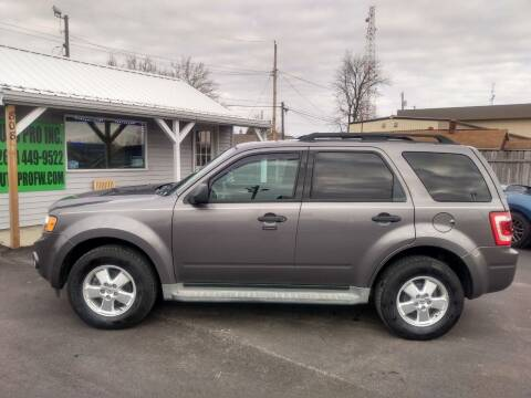 2011 Ford Escape for sale at Auto Pro Inc in Fort Wayne IN