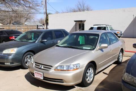 2001 Honda Accord for sale at KD Motors in Lubbock TX