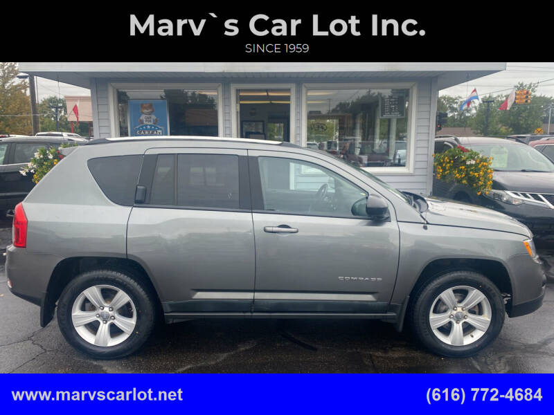 2011 Jeep Compass for sale at Marv`s Car Lot Inc. in Zeeland MI