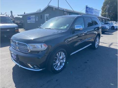 2014 Dodge Durango for sale at AutoDeals in Hayward CA