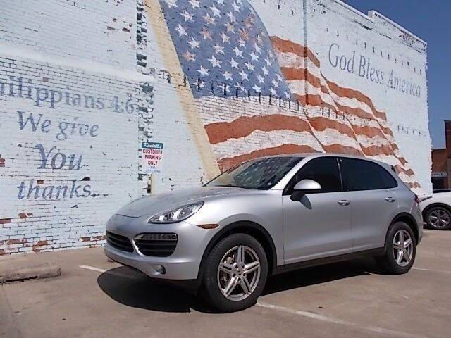 2011 Porsche Cayenne for sale at LARRY'S CLASSICS in Skiatook OK