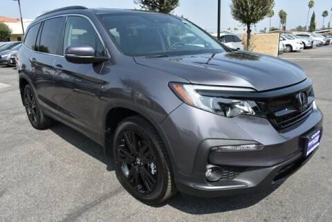 2021 Honda Pilot for sale at DIAMOND VALLEY HONDA in Hemet CA