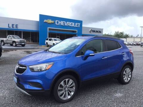 2017 Buick Encore for sale at LEE CHEVROLET PONTIAC BUICK in Washington NC