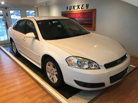 2009 Chevrolet Impala for sale at Forkey Auto & Trailer Sales in La Fargeville NY