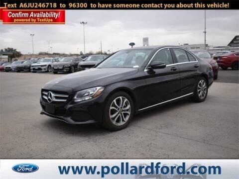 2018 Mercedes-Benz C-Class for sale at South Plains Autoplex by RANDY BUCHANAN in Lubbock TX