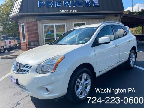 2012 Nissan Rogue for sale at Premiere Auto Sales in Washington PA