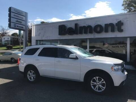 2012 Dodge Durango for sale at BELMONT DODGE CHRYSLER JEEP in Barnesville OH