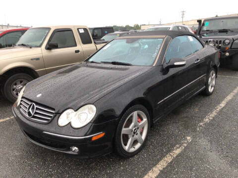 2005 Mercedes-Benz CLK for sale at Ultimate Motors in Port Monmouth NJ