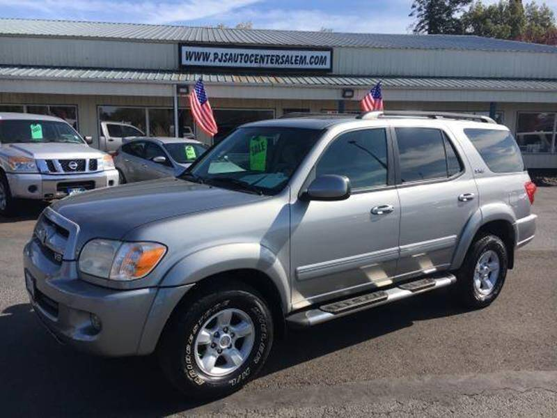 2007 Toyota Sequoia for sale at PJ's Auto Center in Salem OR