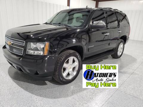2013 Chevrolet Tahoe for sale at Hatcher's Auto Sales, LLC - Buy Here Pay Here in Campbellsville KY