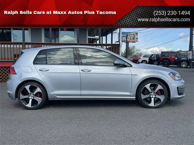 2016 Volkswagen Golf GTI for sale at Ralph Sells Cars at Maxx Autos Plus Tacoma in Tacoma WA