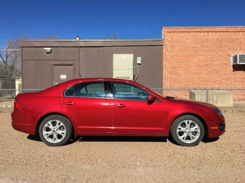 2012 Ford Fusion for sale at Chubbuck Motor Co in Ordway CO