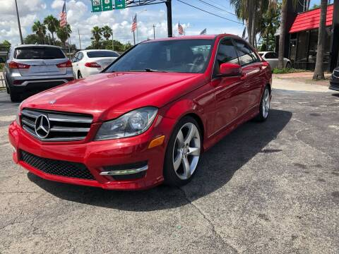 2014 Mercedes-Benz C-Class for sale at GTR MOTORS in Hollywood FL