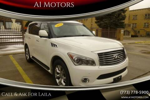 2012 Infiniti QX56 for sale at A1 Motors Inc in Chicago IL