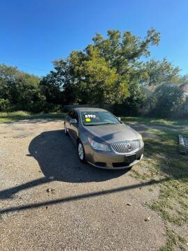 2012 Buick LaCrosse for sale at Holders Auto Sales in Waco TX
