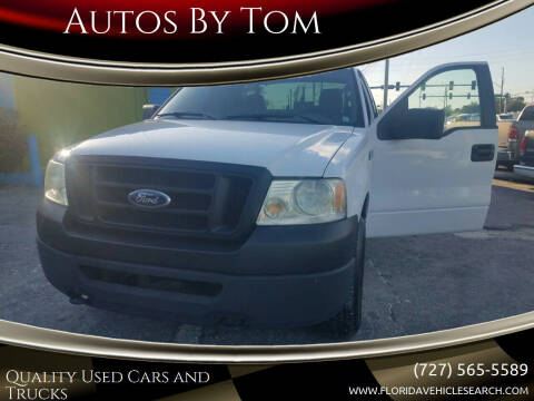 2006 Ford F-150 for sale at Autos by Tom in Largo FL