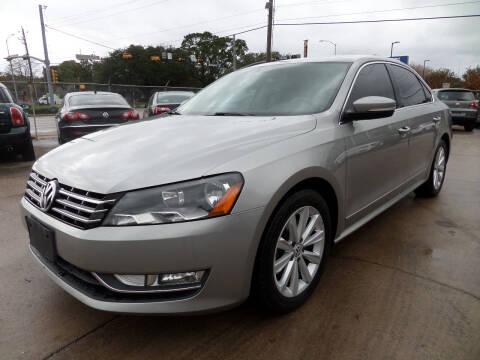 2013 Volkswagen Passat for sale at West End Motors Inc in Houston TX