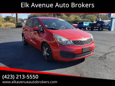 2012 Kia Rio for sale at Elk Avenue Auto Brokers in Elizabethton TN