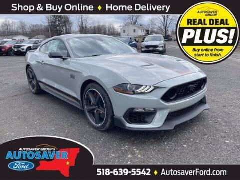 2021 Ford Mustang for sale at Autosaver Ford in Comstock NY