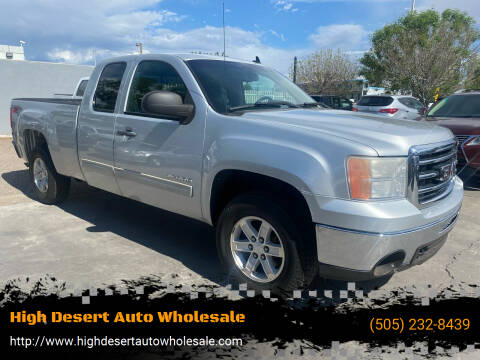2012 GMC Sierra 1500 for sale at High Desert Auto Wholesale in Albuquerque NM