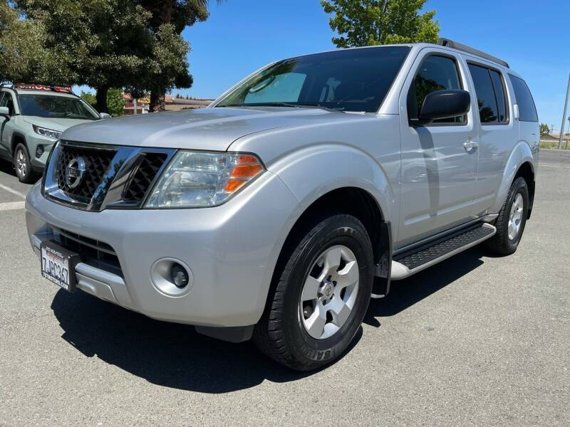 2009 Nissan Pathfinder for sale at 707 Motors in Fairfield CA