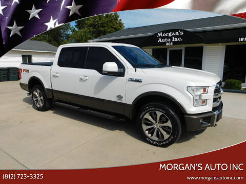 2016 Ford F-150 for sale at Morgan's Auto Inc in Paoli IN