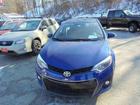 2016 Toyota Corolla for sale at Precision Valley Auto Sales in Springfield VT