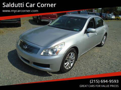 2007 Infiniti G35 for sale at Saldutti Car Corner in Gilbertsville PA