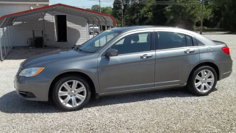 2013 Chrysler 200 for sale at MIKE'S CYCLE & AUTO in Connersville IN
