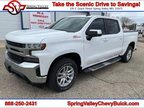2019 Chevrolet Silverado 1500 for sale at Spring Valley Chevrolet Buick in Spring Valley MN