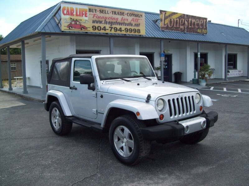 2008 Jeep Wrangler for sale at LONGSTREET AUTO in St Augustine FL