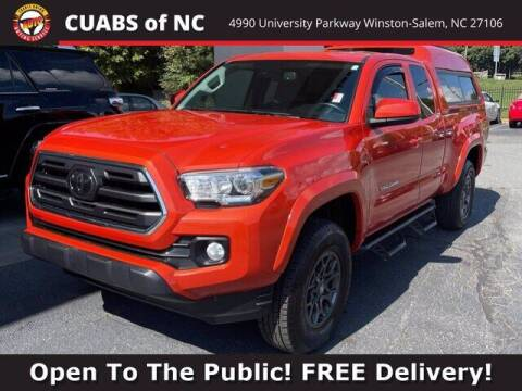 2018 Toyota Tacoma for sale at Summit Credit Union Auto Buying Service in Winston Salem NC
