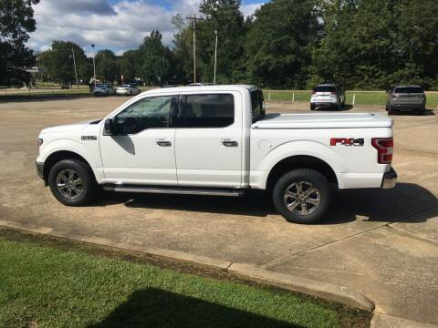 2018 Ford F-150 for sale at ALLEN JONES USED CARS INC in Steens MS