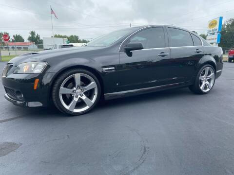 2009 Pontiac G8 for sale at Vanns Auto Sales in Goldsboro NC
