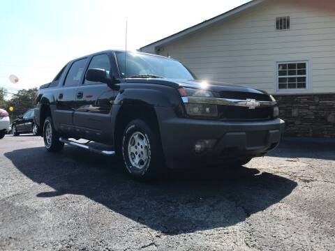 2005 Chevrolet Avalanche for sale at No Full Coverage Auto Sales in Austell GA