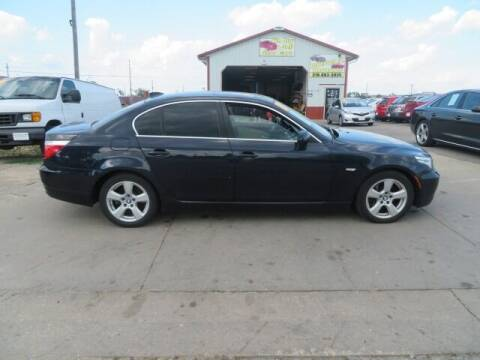 2008 BMW 5 Series for sale at Jefferson St Motors in Waterloo IA
