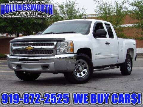 2012 Chevrolet Silverado 1500 for sale at Hollingsworth Auto Sales in Raleigh NC