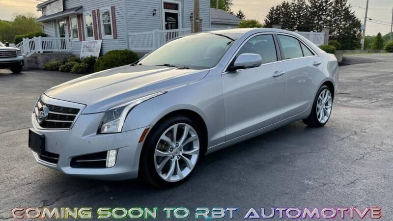 2013 Cadillac ATS for sale at RBT Automotive LLC in Perry OH