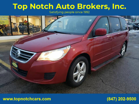 2009 Volkswagen Routan for sale at Top Notch Auto Brokers, Inc. in Palatine IL