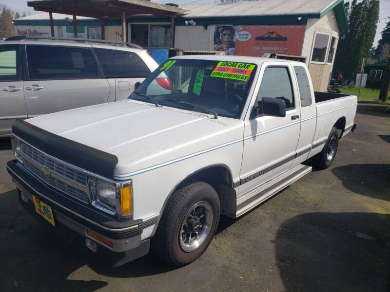 1992 Chevrolet S-10 for sale at TOP Auto BROKERS LLC in Vancouver WA