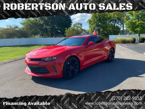 2016 Chevrolet Camaro for sale at ROBERTSON AUTO SALES in Bowling Green KY