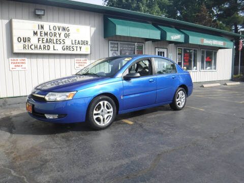 2004 Saturn Ion for sale at GRESTY AUTO SALES in Loves Park IL