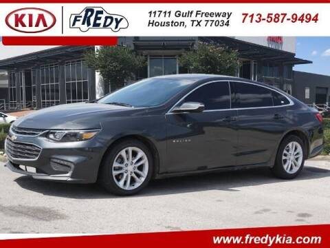 2016 Chevrolet Malibu for sale at FREDY USED CAR SALES in Houston TX
