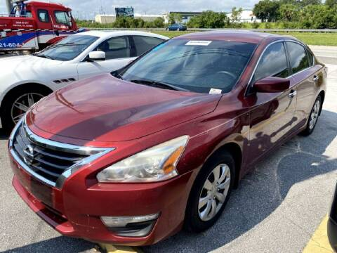 2015 Nissan Altima for sale at ROCKLEDGE in Rockledge FL