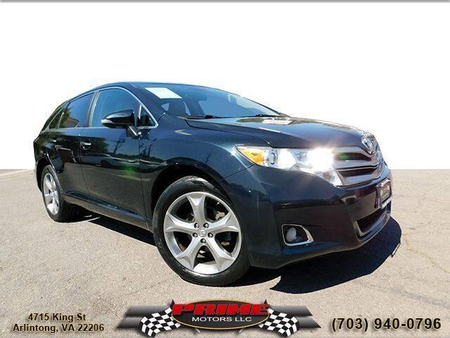 2013 Toyota Venza for sale at PRIME MOTORS LLC in Arlington VA