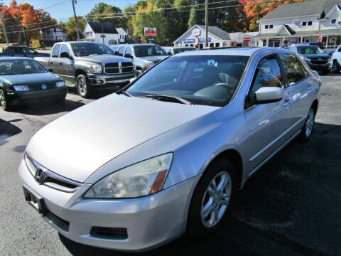 2007 Honda Accord for sale at Route 12 Auto Sales in Leominster MA